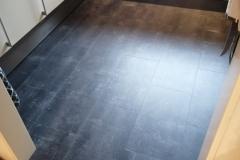 Keuken met Klik PVC