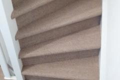 Trap detail van het Sisal tapijt